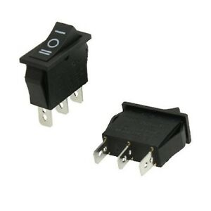 2x Square Rocker Car Machine Switch Spdt 3 Position Ac 15a 250v 20a 125v Small
