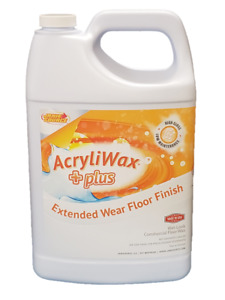 Acryliwax Plus Commercial Floor Finish Case Of 4 Gallons