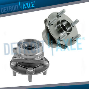 2 Front Driver And Passenger Wheel Hub Bearing Assembly For 04 08 Toyota Prius