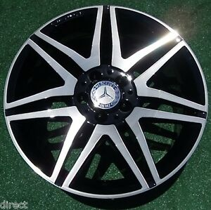Perfect Oem Factory Amg Mercedes benz C250 C300 C350 Black 18 Inch Wheel 85270