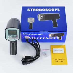 Handheld Stroboscope Dt 2350pa 50 12000 Fpm Flash Analyzer Xenon Lamp Meter Tool
