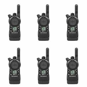 6 Motorola Cls1110 Uhf Two way Radios Rebate For A Free Multi unit Charger