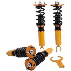 Complete Coilover Kit For Honda Accord 90 97 Acura Cl 97 99 Adjustable Height