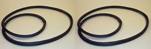 Pair Of Sliding Rear Window Rubbers Fits Willys Jeep Station Wagon