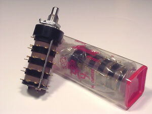 Grayhill 10 Position 4 Pole Rotary Switch Gold Contacts Mil Spec New