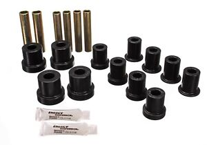 Energy Suspension 3 2112g Front Leaf Spring Bushings 70 87 Chevy Gmc Pickup 4wd