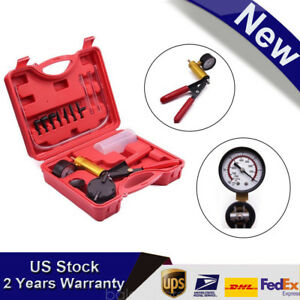 Vacuum Pump Brake Bleeder Car Auto Hand Held Pistol Pump Tool Kit Tester