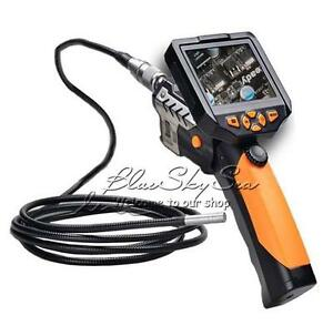 5m Cable Tube Snake 3 5 Lcd Camera Endoscope Inspection Borescope Video Dvr