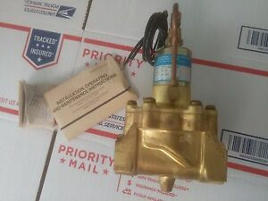 Skinner Lp1la6150n Solenoid Valve 5 150 Psi 24 Vdc Orifice 1 New Warranty