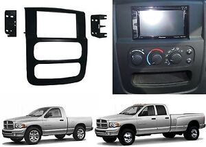 Metra 95 6522b Double Din Stereo Install Dash Kit For 2002 2005 Dodge Ram New
