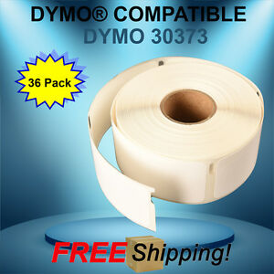 36 Paper Rolls 400 Labels 30373 Compatible W Dymo Thermal Printing Waterproof