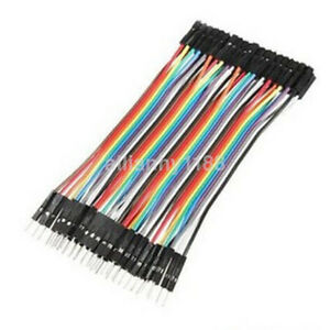 Arduino Dupont Wires 40pcs 10cm Male To Female Circuit Experiments Lot Ca