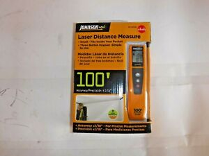 New Johnson Level Tool 40 6006 100 feet Laser Distance Measure t