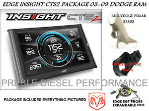 Edge Insight Cts2 Package 03 09 Dodge Ram With Pillar Mount And Probe