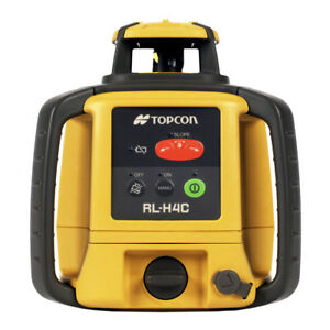 Topcon Rl h4c Self leveling Rotary Laser Dry Battery Level 313980752