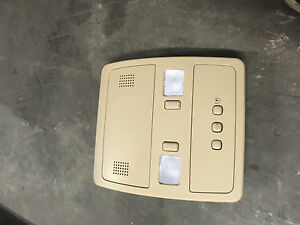 2005 2011 Cadillac Sts Oem Overhead Console With Homelink Switch Light Cashmere
