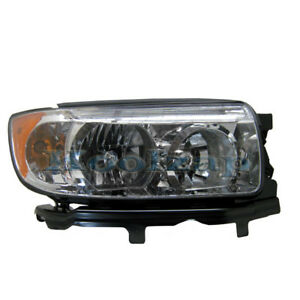 06 08 Forester Headlight Headlamp Halogen Head Light Lamp Right Passenger Side R