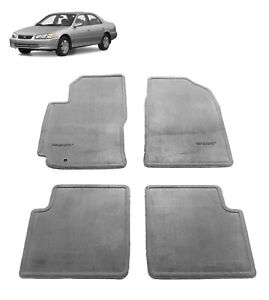 1997 2001 Camry Floor Mats Carpet Blue Gray Oem Genuine Toyota 00200 32970 33