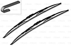 Audi Jeep Chrysler Bosch Twin Front Windshield Wiper Blades Pair 530mm 21 1978