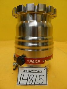 Hipace 300 Pfeiffer Pm P03 989 Turbomolecular Pump Tc 110 Used Tested Working
