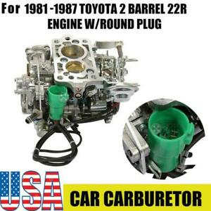 Carburetor Toy 505 For Toyota Pickup 22r 1981 1987 W Green Round Plug