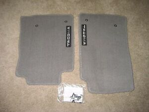 Toyota Tacoma Front Floor Mats Carpet Light Gray Genuine Oem All Cabs 2005 2011