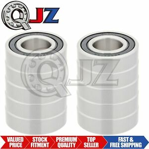 10x S6004 2rs Ball Bearing 20mm X 42mm X 12mm Rubber Sealed Stainless Steel