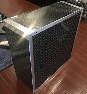 Aluminum Diamond Plate Sheets Thin 025 Black 12 X 120 4 Pcs