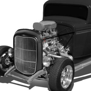 Oe Style Grille Guard Shell Cover Stainless Bars Insert For 1932 Model B Bb 18