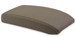 Center Console Armrest Leather Synthetic Cover For Toyota 4runner 96 02 Dark Tan