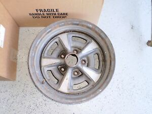 73 74 Pontiac Hw Code 15 X7 Rally Ii Wheel Rim Trans Am Grand Gto Firebird