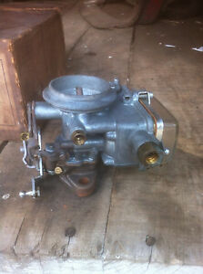Holley 1952 53 Ford 2 Barrel Carburetor