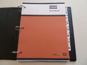 Case 430ck 530ck Tractor Service Manual Repair Shop Book New With Binder