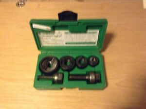 Greenlee Knockout Punch Kit 7235bb