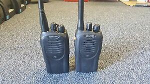 Lot Of 2 Kenwood Tk 3160 1 Uhf Fm Transceiver 16 Channels