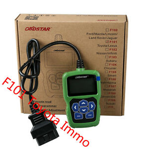 New Obdstar F101 For Toyota Immo Reset Tool Support G Chip All Key Lost F 101