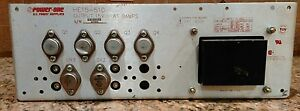 Power one He15 510 15vdc 9a Linear Power Supply