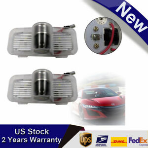 2pcs Led Car Welcome Door Step Laser Projector For Honda Accord Crosstour Pilot