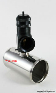 Turbo Type h Rfl Bov Blow Off Valve Black 2 5 Od Stainless Steel Adp Pipe Xs