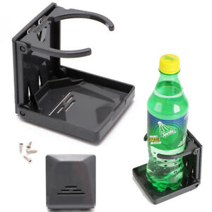 Adjustable Folding Drink Cup Bottle Holder Stand Mount Car Auto Boat Fishing Box