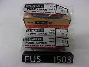 New Ab Chance Co M200ka23 200 Amps Fuse Links fus1503