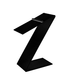 Black Slant Back Acrylic Shoe Riser 3 w X 8 h X 5 1 8 d Retail Shoe Display