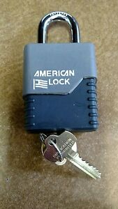 American Lock Padlock Model 3200 Sfic With Cover
