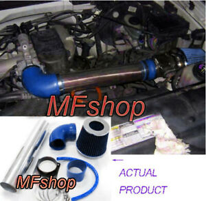 Blue For 1997 2003 Ford F 150 Pickup 4 2l V6 Ohv Air Intake System Kit Filter
