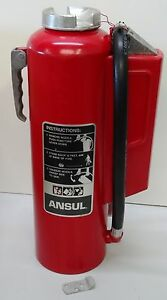 Ansul Red Line Fire Extinguisher Type Ii Class 2 Size 20 Type Bc