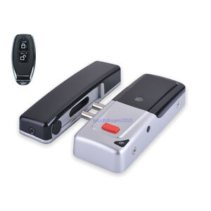 Wireless Electric Door Lock Mortise Lock Remote Control Open Door Bolt Lock