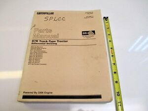 Caterpillar D7r Track type Tractor Parts Manual Volume 2 Equipment Construction
