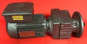 Used Sew Eurodrive Type Dft80m4 Gearmotor 1 Hp 230 460v 1700 Rpm 3 Phase