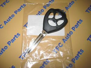 Toyota Camry Corolla Blank Key Case Transmitter Housing Genuine Oem Toyota New