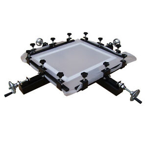 High Precise 24 x24 Manual Screen Stretching Machine Screen Printing Stretcher